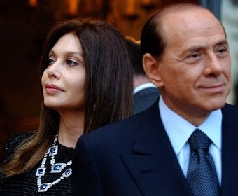 """""""I Cannot Condemn Myself To Be His Wet Nurse"""": Berlusconi's Wife Speaks Out"""