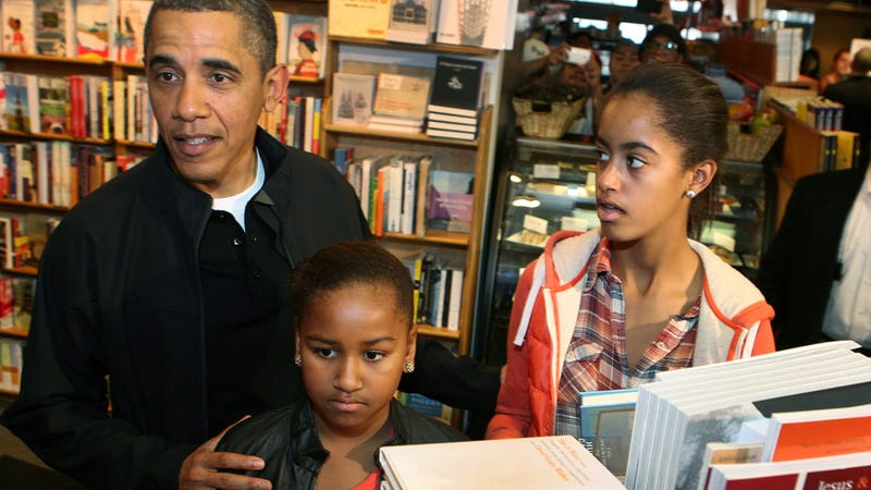 Sasha and Malia Are Banned from Facebook