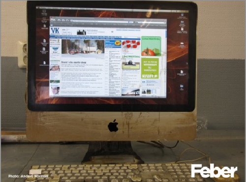 iMac Still Works After Being on Fire