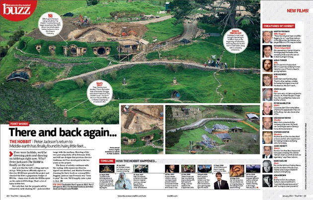A Bilbo-sized look at the Shire from Peter Jackson's The Hobbit