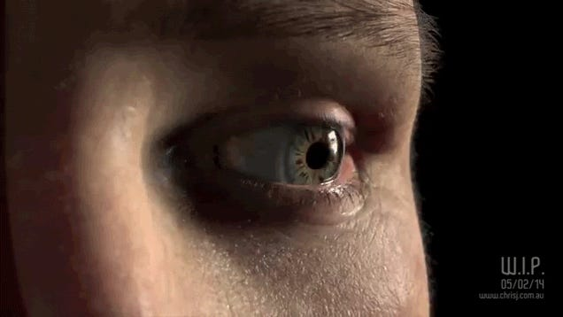 I can't believe this frighteningly realistic eyeball is not real