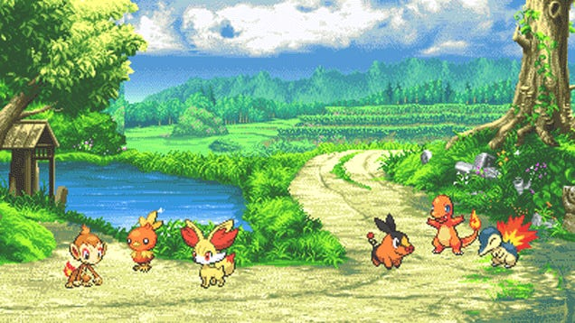 If Only Modern Pokemon Games Looked Like This