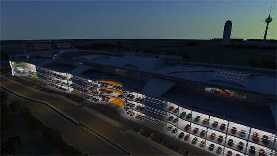 World's Largest Auto Dealership: Renders