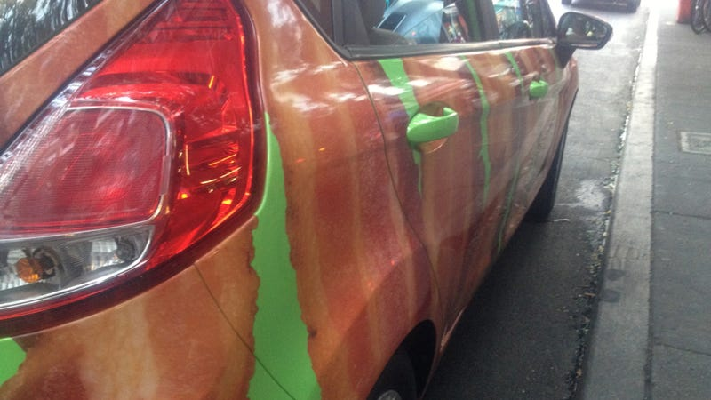 Taking A Bacon Car On A Bacon Tour Of New York