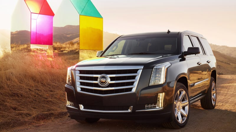 GM Thinks Escalade Diesel Is A Good Idea Because Jeep's Doing Diesel