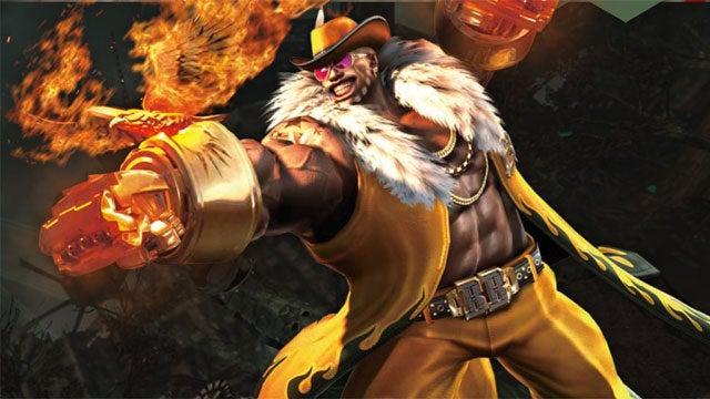 Meet Anarchy Reigns' Blacker Baron And His Super Sexy Fists Of Fire