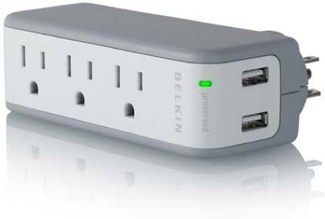 Belkin's Mashup Surge Protector and USB Charger is Perfect, Tiny