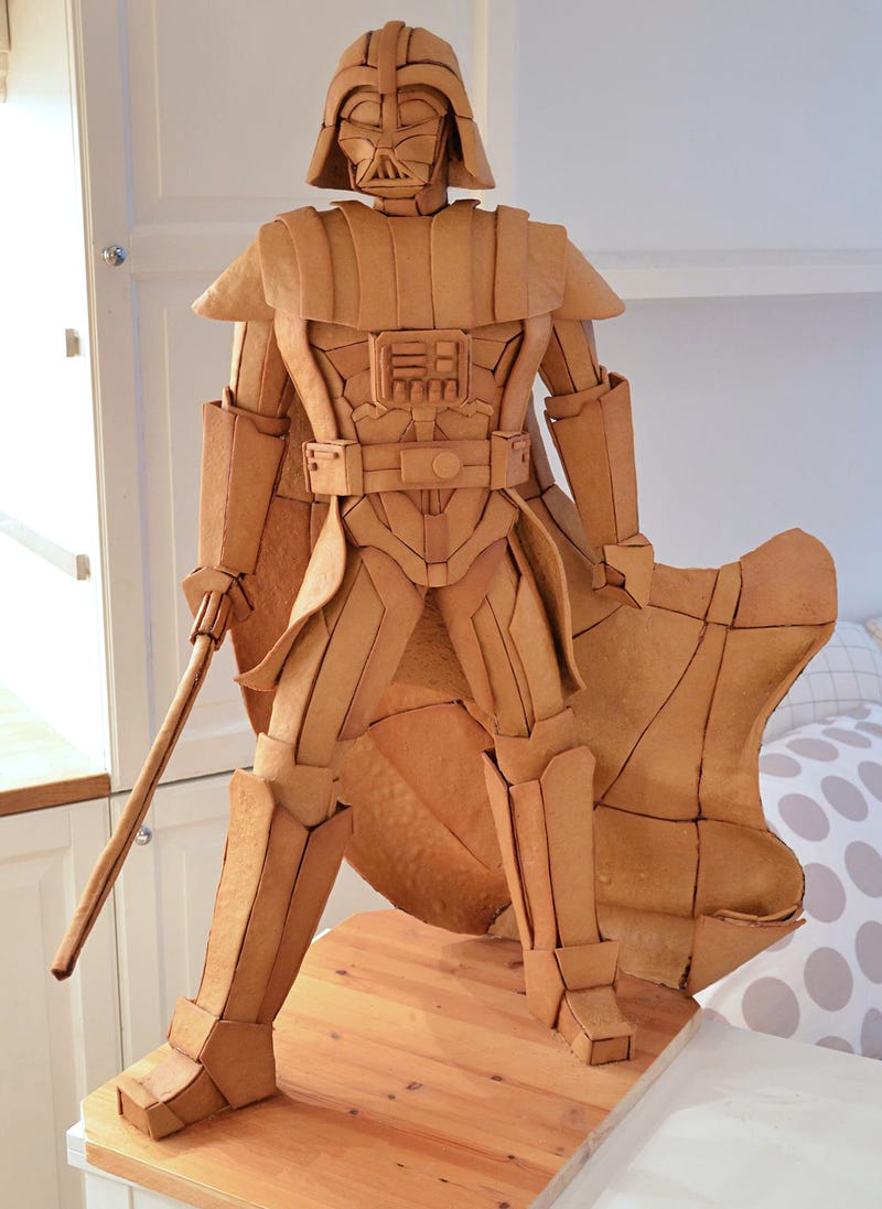 We Need to Make Room For This Gingerbread Darth Vader in the Smithsonian