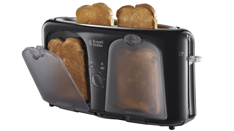 This Slim Toaster Has Clever Heated Pockets To Keep Your Toast Warm