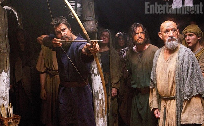 Yikes, Christian Bale's Moses Is Super Intense