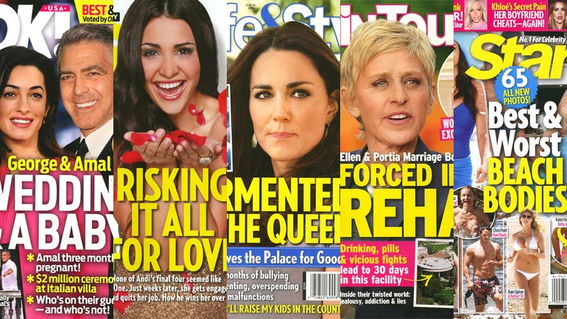 This Week In Tabloids: The Hideously Cruel 'Worst Beach Bodies' Issue