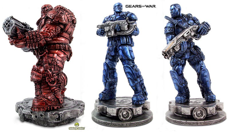 Gears of War In Red And Blue Bronze