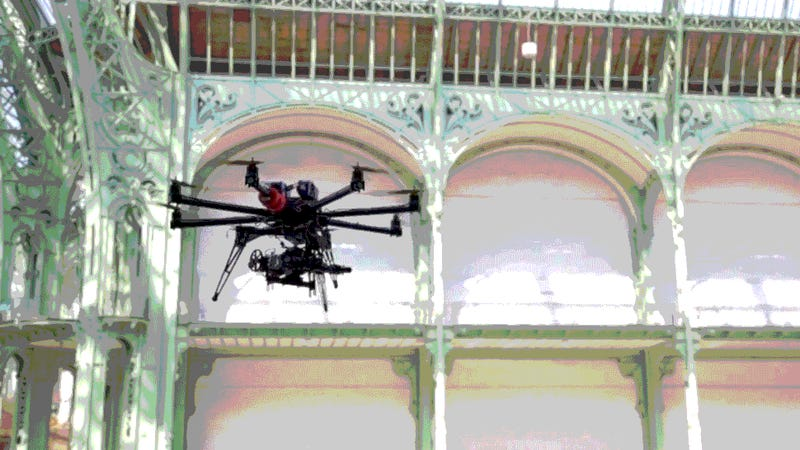 Explore a Turn-of-the-Century Parisian Landmark on the Back of a Drone