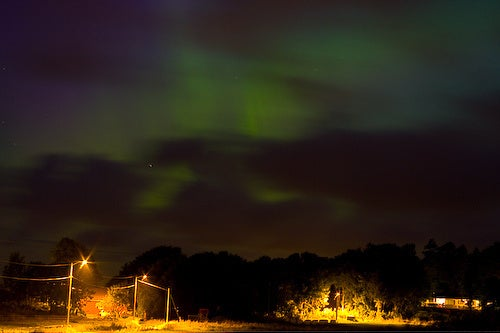 Space Burp Rains Down on Norway