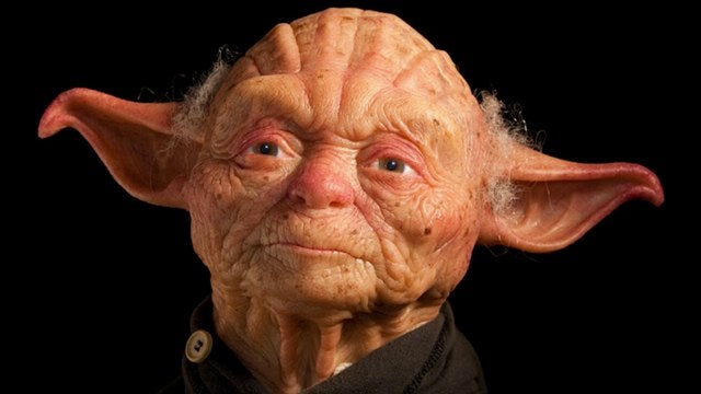 This is what Yoda would like as a human being. Yikes.