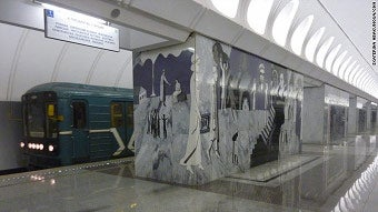 Depressing Art In Train Stations May Depress Commuters