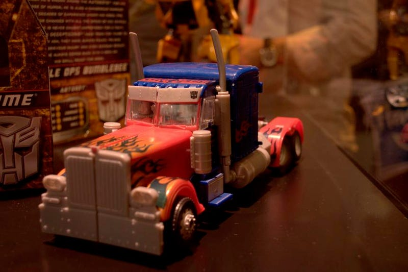 Checking out the new Transformers cartoon and the coolest Transformers toys at Comic Con!