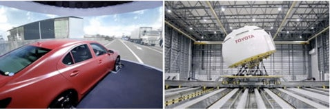 Beyond Safetydome: Toyota Develops Full-Size Driving Simulator