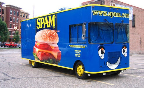 The Spam Mobile, Peepmobile And Other Bizarre Marketing Vehicles