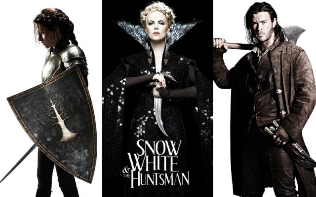 Snow White and the Huntsman Poster and Cast Portraits