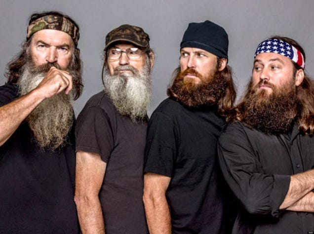 A+E Caves, Reinstates Bearded Bigot Phil Robertson to Duck Dynasty