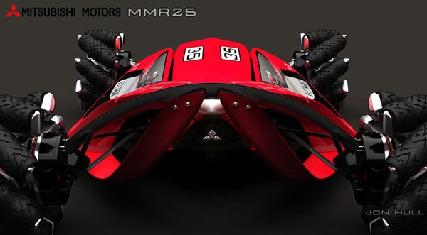 Mitsubishi Plans Ferocious MMR25 Rally Racer for Year 2025
