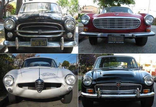 Celebrating 450 Old Vehicles Down On The Alameda Street: The Other Europeans
