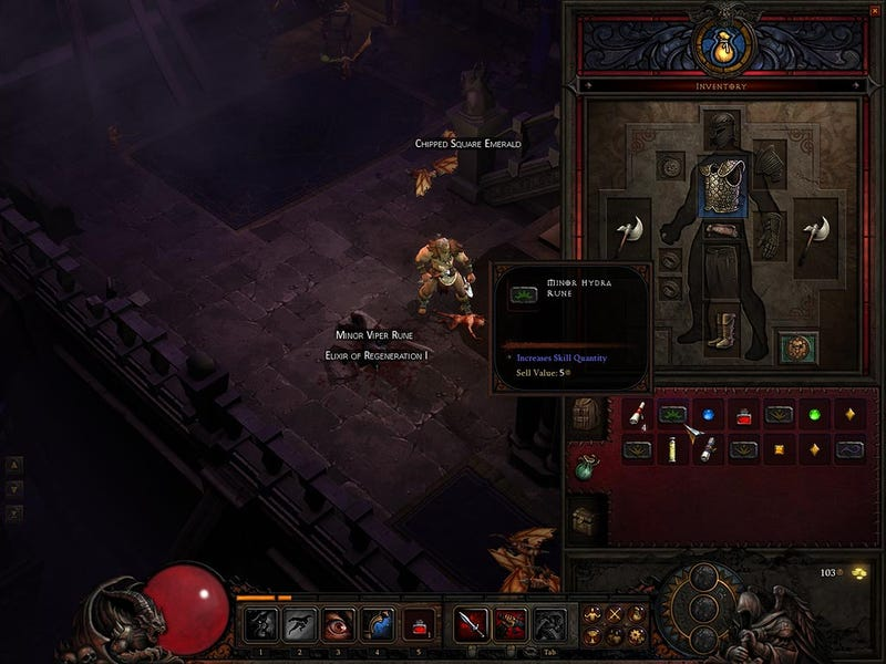 What Diablo III's Interface Got From World Of Warcraft