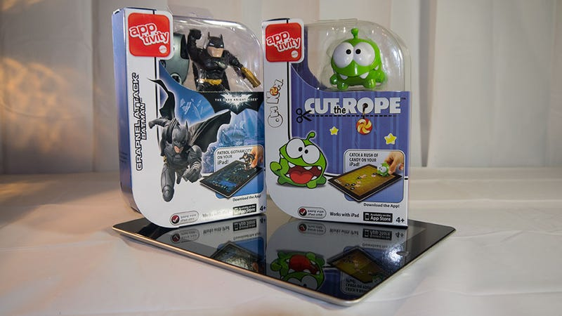 Apps Plus Toys: Apptivity Batman and Cut the Rope