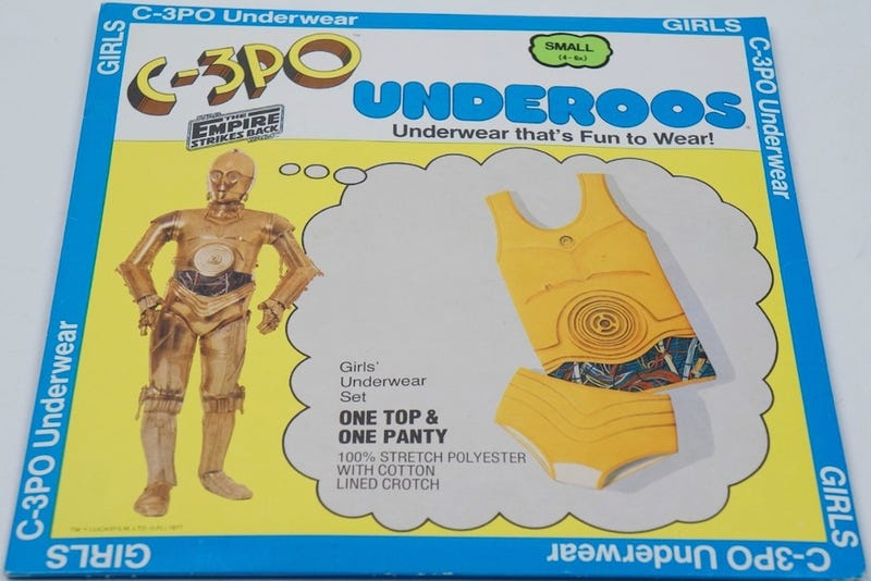 Where the hell are my goddamned adult Underoos?