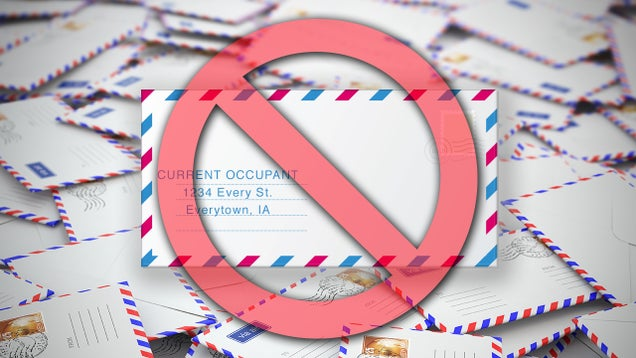 How to Banish Junk Mail from Your (Real World) Mailbox