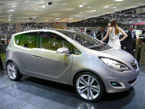 Opel Meriva Concept Revealed, Hooray For Suicide...Doors