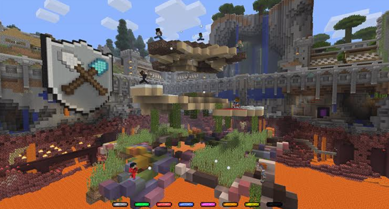 Minecraft's Free Tumble Mini-Game Is A Blast