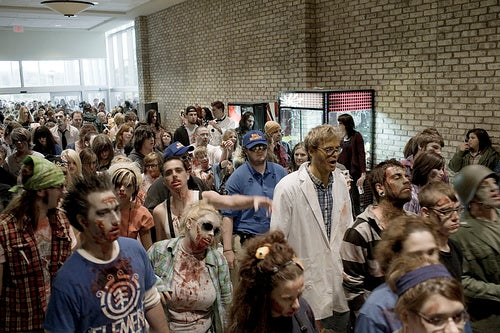 Dawn Of The Dead Re-Enactment