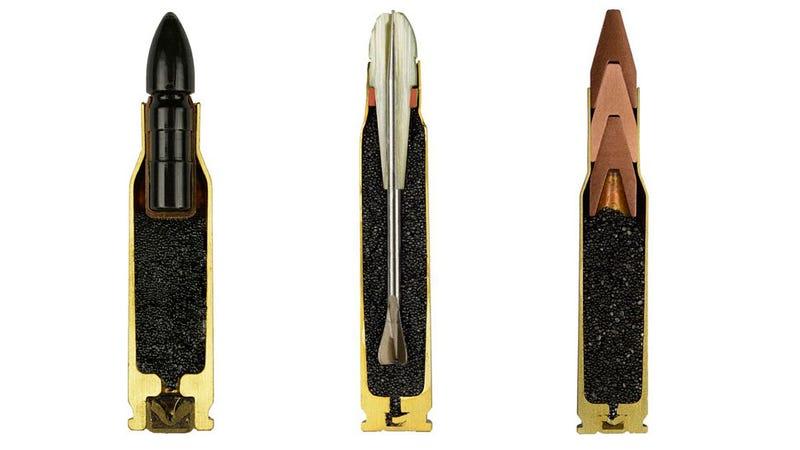 Estas fotos de balas por dentro las hacen aún más aterradoras