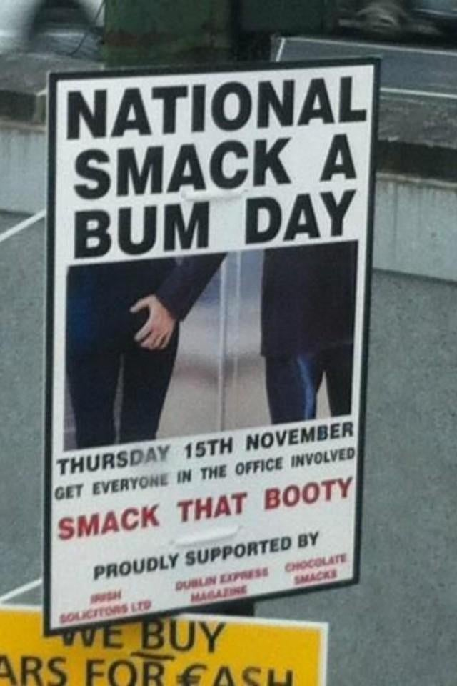 Quick: Only a Few Hours Left to Take Advantage of 'National Bum Smacking Day'
