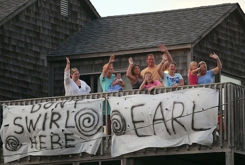 North Carolinians Have A Message For Hurricane Earl
