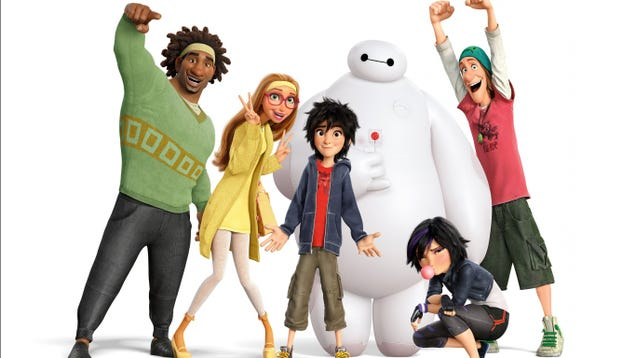 We Saw a Bunch of New Big Hero 6 Footage And Now We Love It Even More