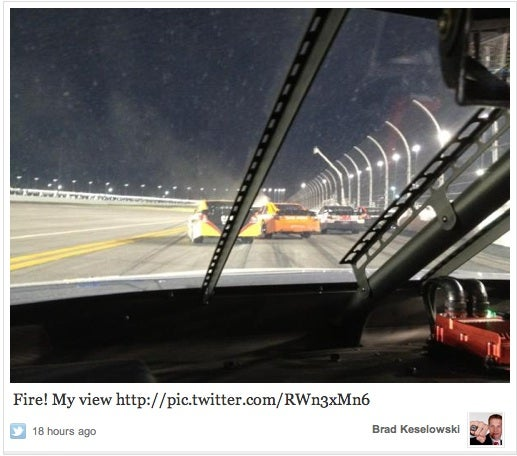 NASCAR's Cool With Tweeting During Races, Won't Punish Brad Keselowski