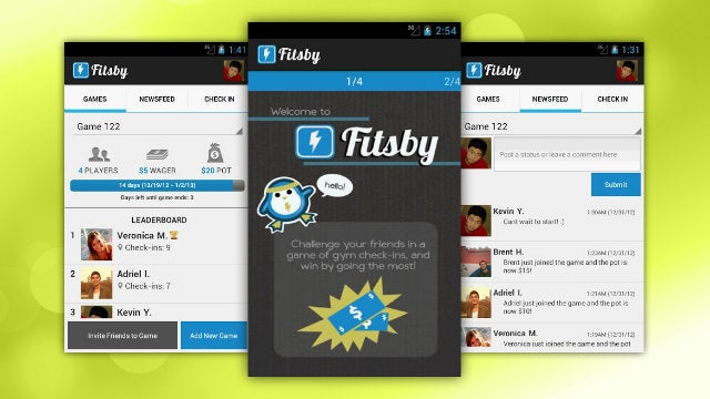 Fitsby Puts Real Money on the Line to Make Sure You and Your Friends Go to the Gym