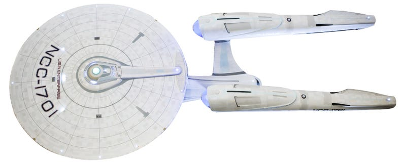 The U.S.S. Enterprise Like You've Never Seen It