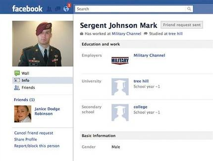 That Soldier Wooing You Over Facebook Probably Isn't Real