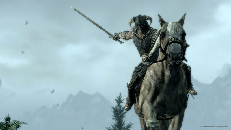 Mounted Combat Arrives in Skyrim