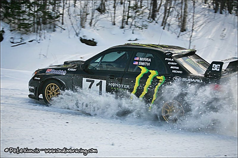 BMX Legend Dave Mirra Snags Rally Win, Joins Subaru Rally Team USA