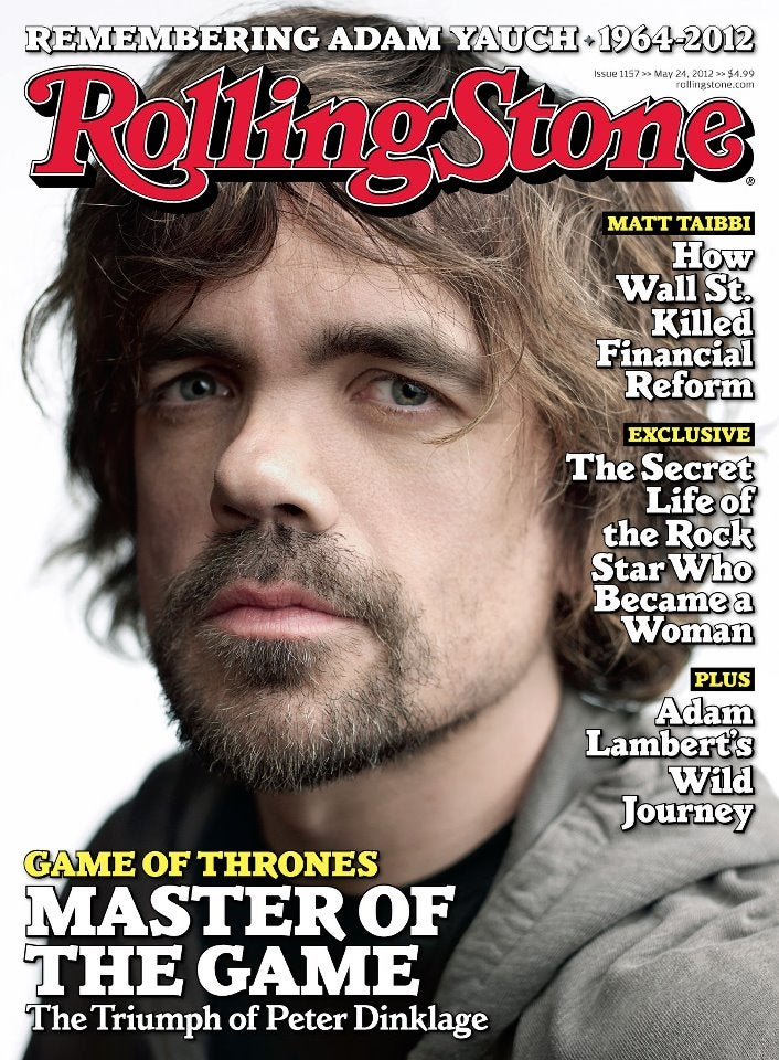 Rolling Stone crowns Peter Dinklage our new rock star