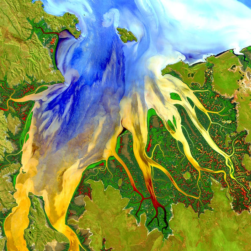 This Snapshot of Coastal Processes in Australia is Lovely and Surreal