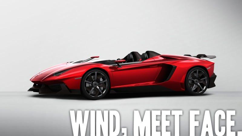 Lamborghini Aventador J: The Fastest Way To Eat Bugs And Ferraris