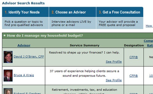MyFinancialAdvice Simplifies Your Hunt for a Financial Advisor