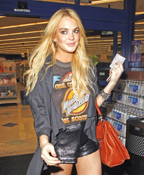 Did Lindsay Steal $170,000 of Designer Clothes from a Boutique?