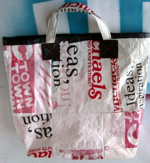 Fuse Plastic Grocery Bags for Crafting